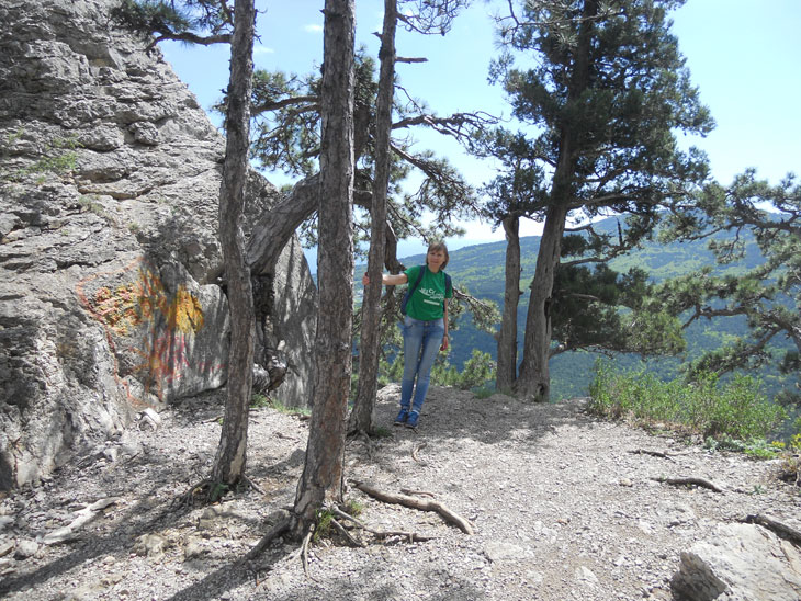 На подходе а Крестовой скале