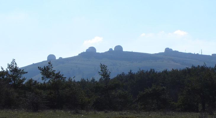 Загадочные купола Ай-Петри