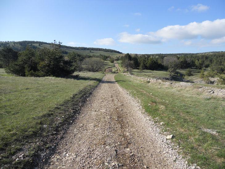 По грунтовой дороге до станции 4.5 км