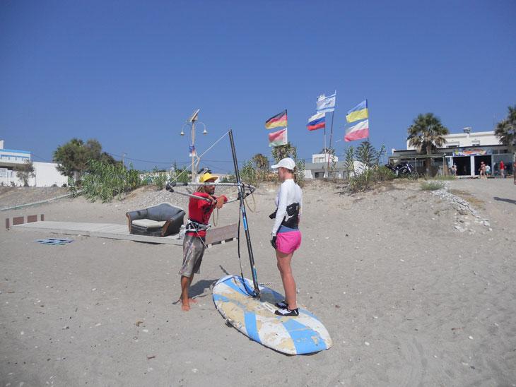 тренажеры на берегу