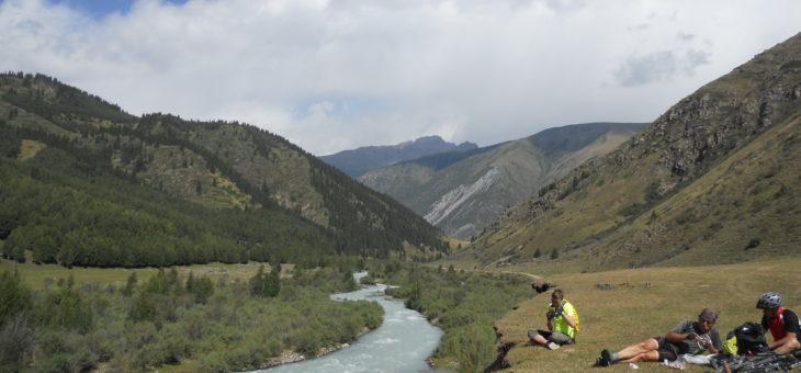 Велотур по ущельям Тянь-Шаня. Семеновское и Григорьевское ущелья.